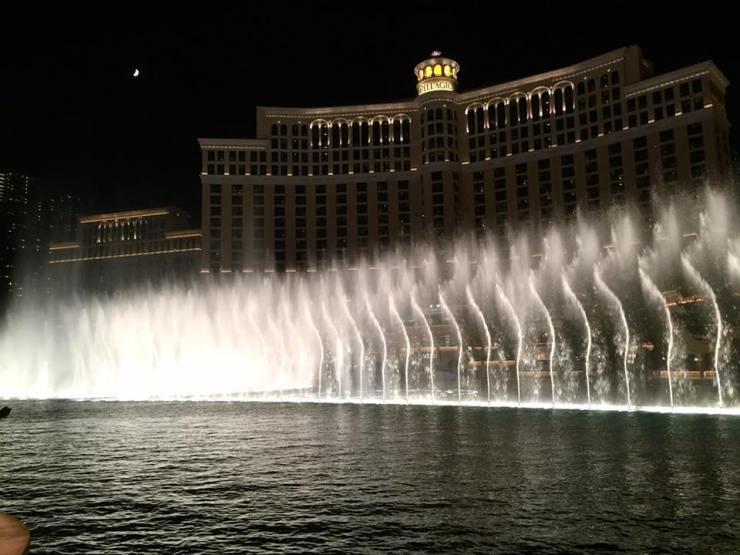 Las Vegas Bellagio Fountains Travel America City Guide