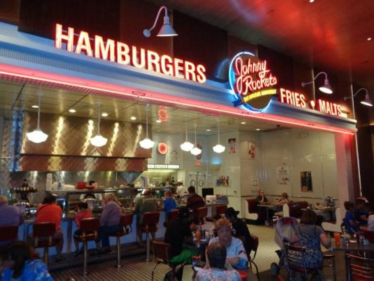Las Vegas Silverton Casino Johnny Rockets Restaurant Food Travel America City Guide