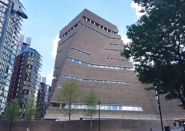 Tate Modern Building London City New