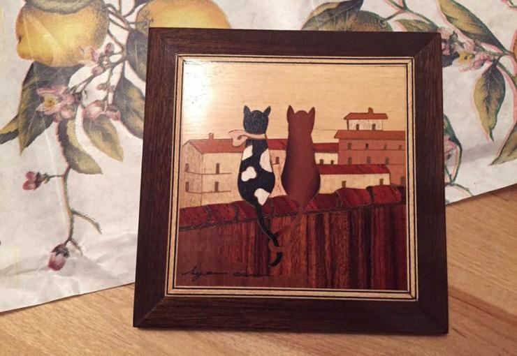 september-favourites-sorrento-intarsia-wood-inlay-art-craft-italy-italian-artist-cats