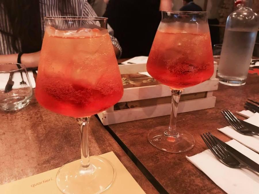 Quartieri Restaurant Kilburn Italian Italy Menu Launch Food Drinks Cocktails Bloggers Press Night
