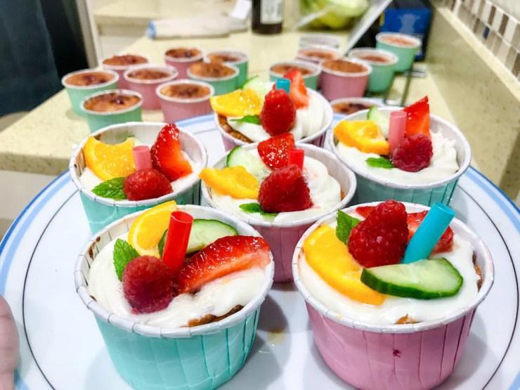 Pimms Cupcakes Fruit Wimbledon Cakes Dessert Baking