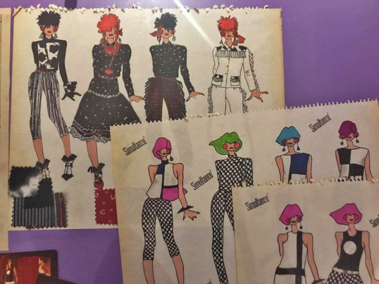 Anna Sui Fashion Textiles Museum Illustrations