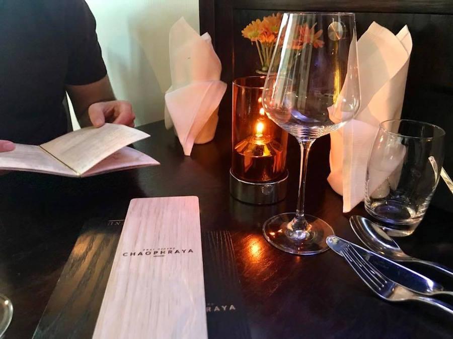 Chaophraya Thai Restaurant Edinburgh Scotland Travel Food