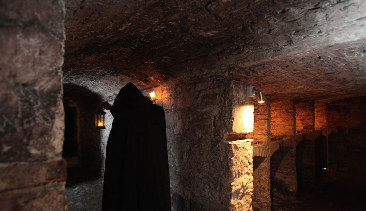 Mercat Tours Underground Vaults Edinburgh Scotland Ghosts Haunted