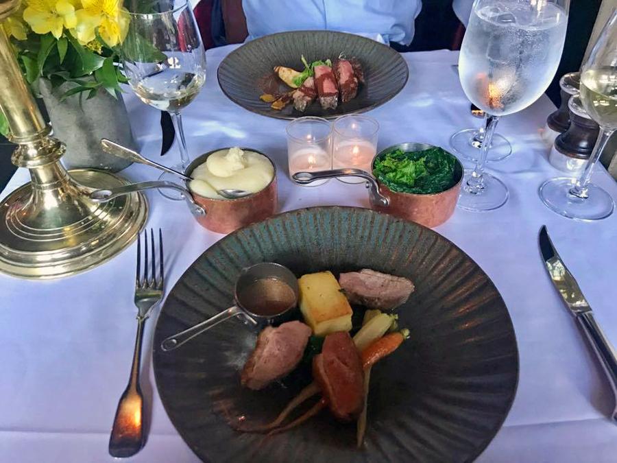 The Witchery Restaurant Food Review Edinburgh Castle Scotland Travel