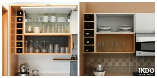 Take A Look At These IKEA Kitchen Ideas For Open Cabinets