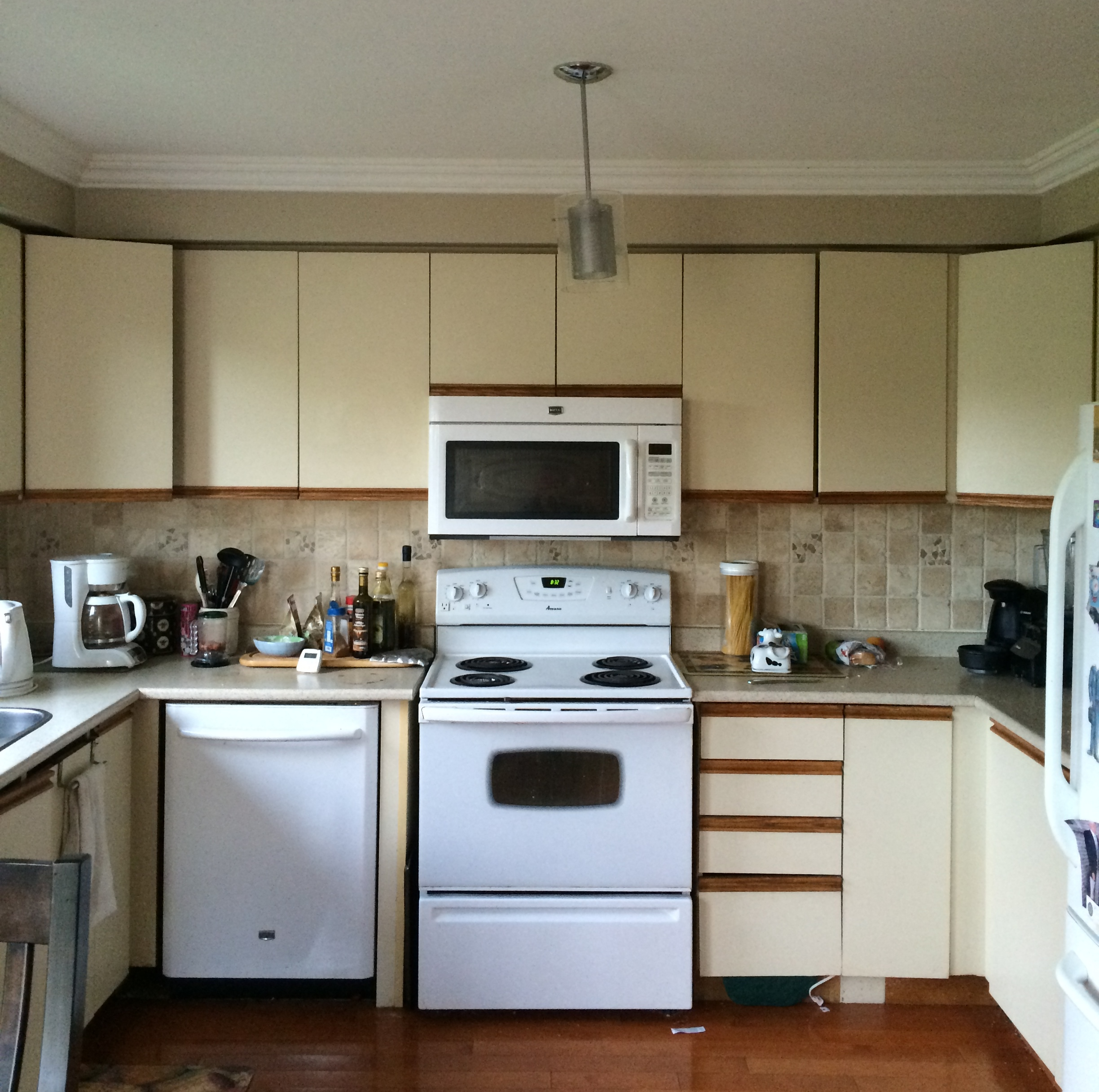 A Refreshing IKEA Facelift For A Canadian Kitchen