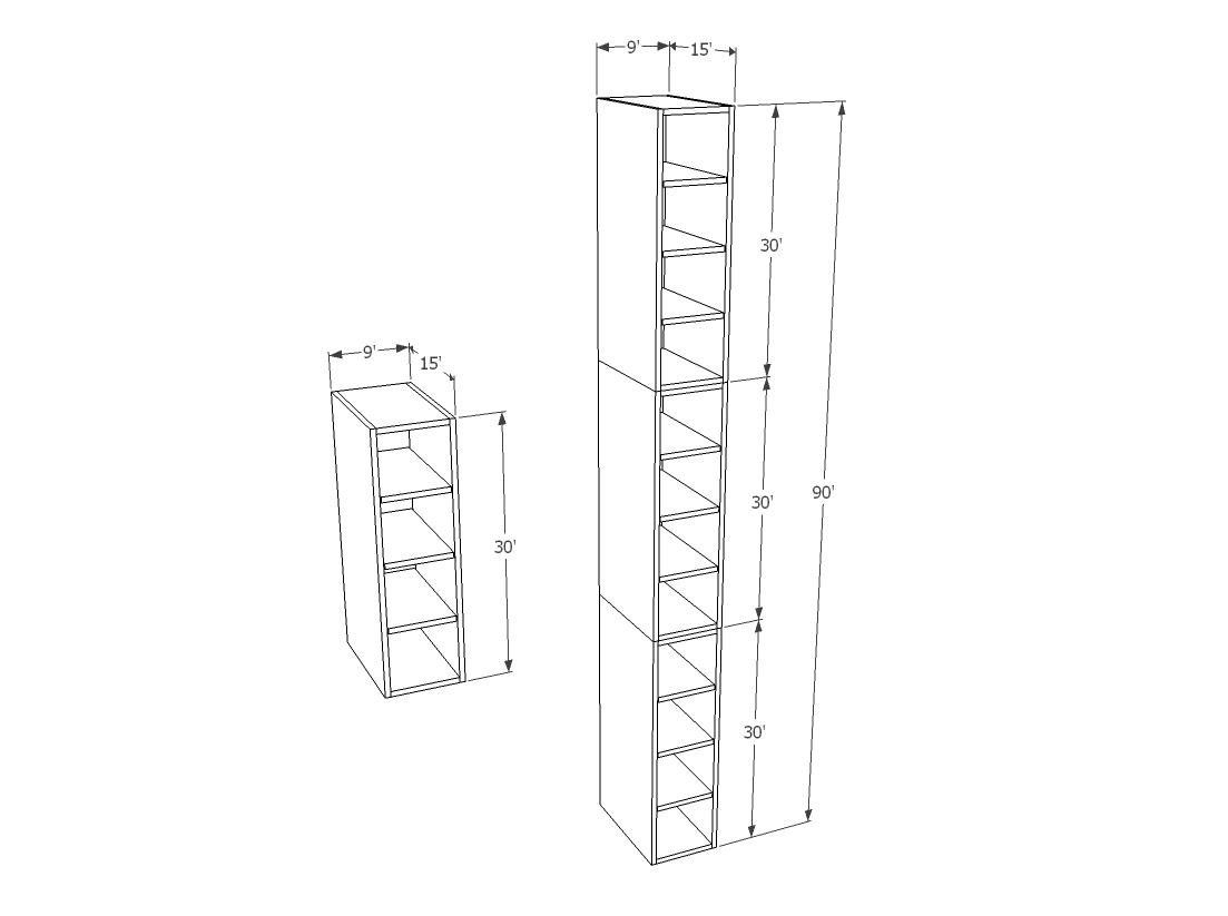 Narrow Wine Rack Cabinet