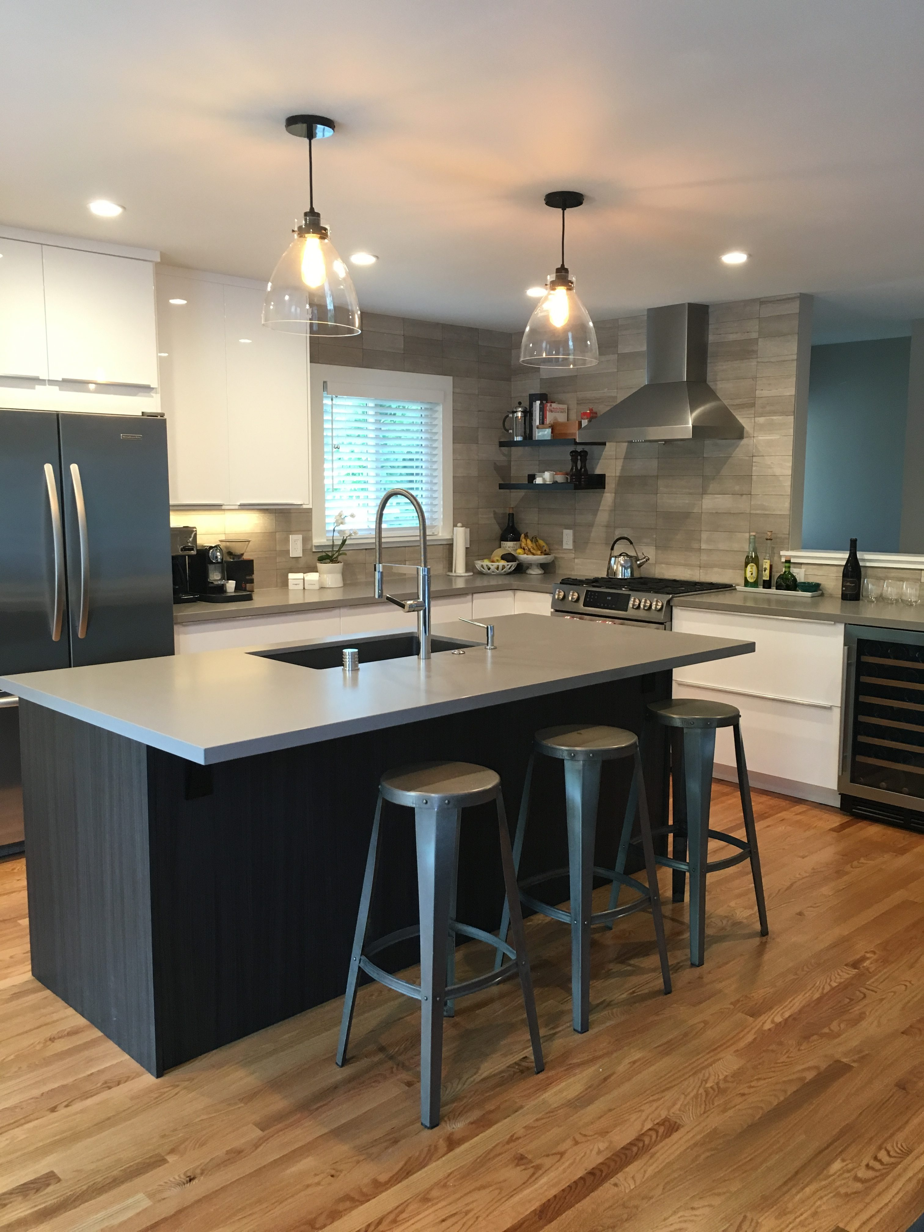 A Sophisticated yet Family-Friendly IKEA Kitchen Design on Model Kitchen Images  id=95744