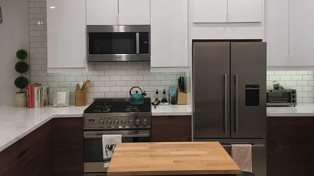 choosing kitchen appliances
