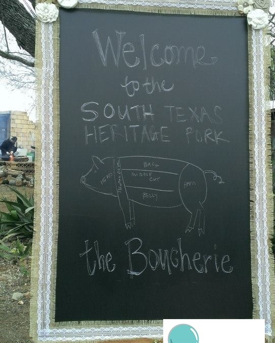 The South Texas Heritage Pork Boucherie!