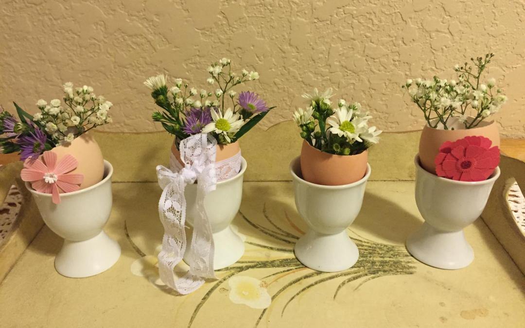 Spring Table Centerpieces