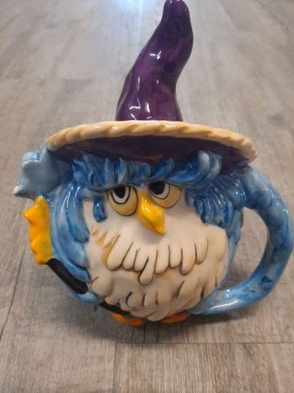 wizard owl teapot