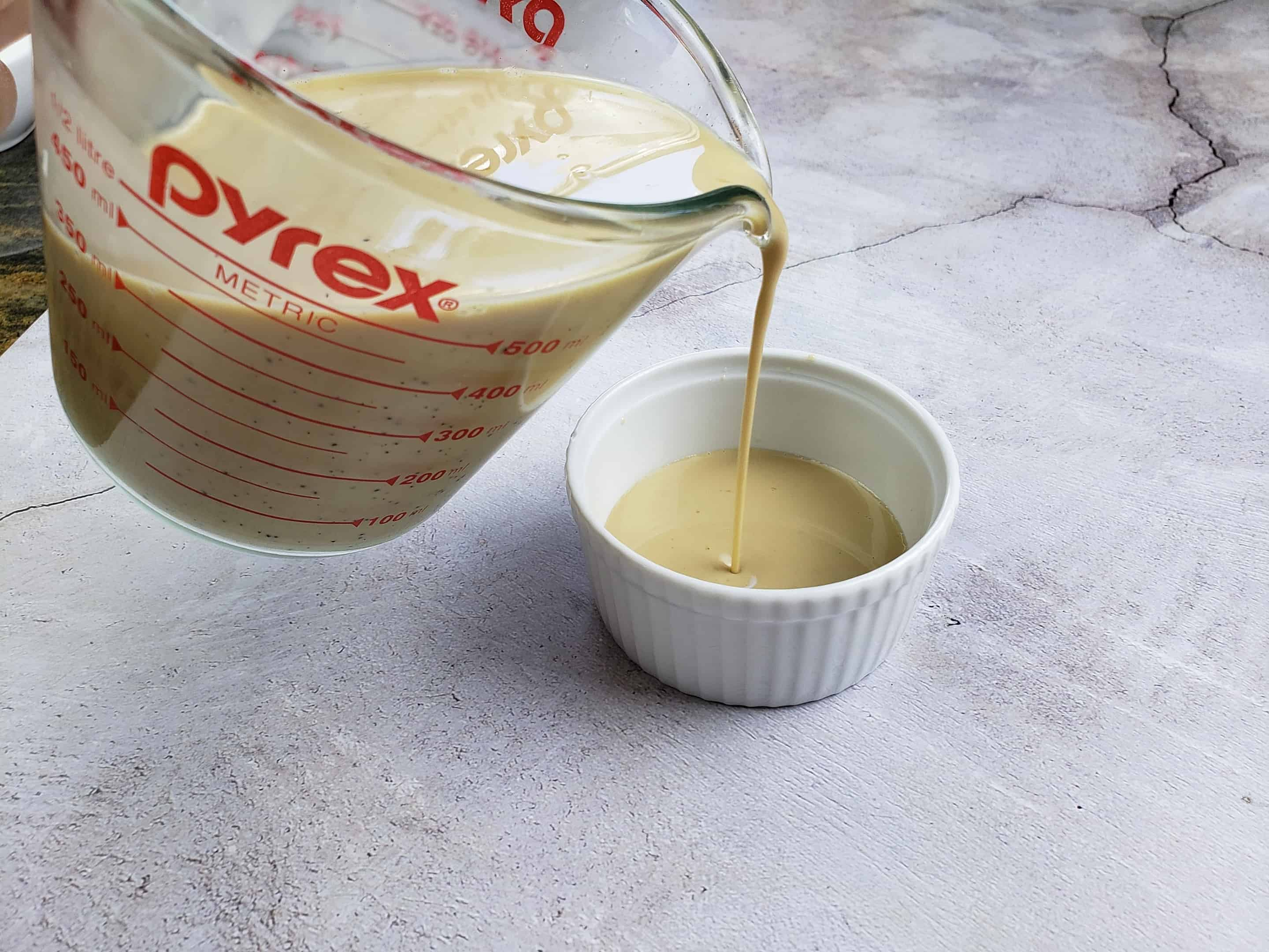Pouring Coffee Cream