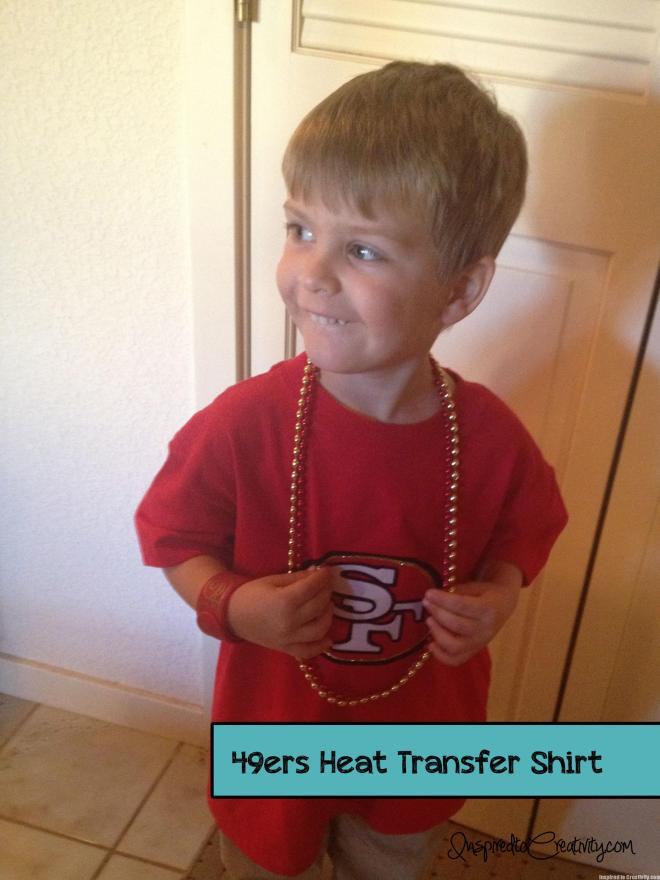 49ers Football Logo Kids Shirt
