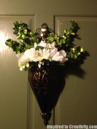 Hanging Urn Front Door Holiday Decoration - St. Patrick's Day