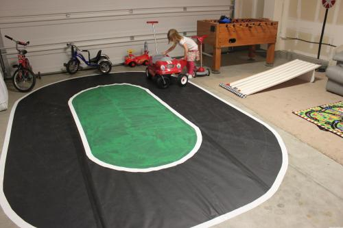 Kids Bicycle Race Track