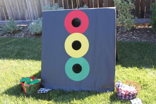 Stoplight Bean Bag Toss