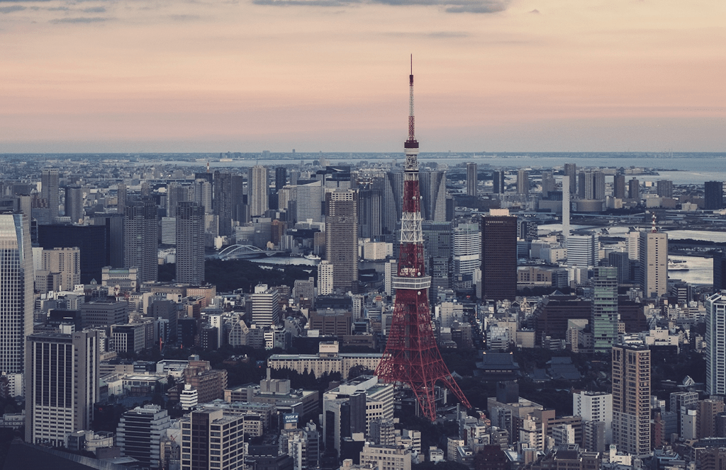 Tokyo and Tokyo Tower