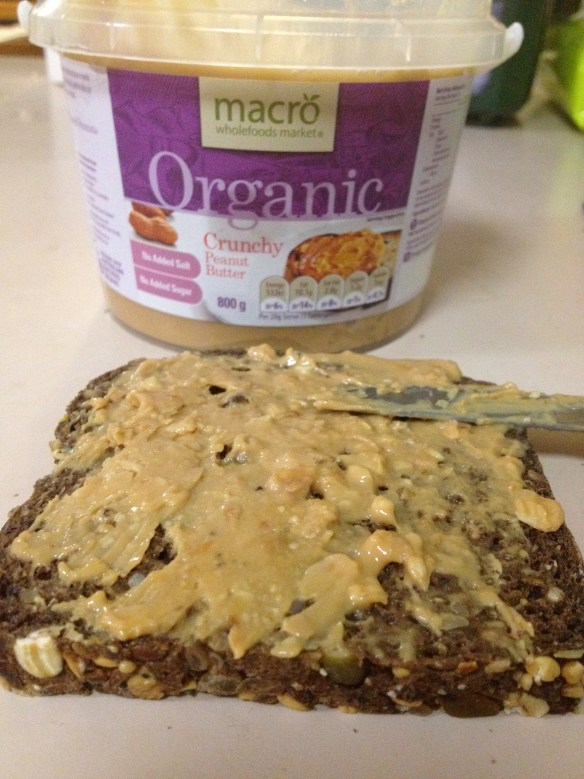 If you're making a sandwich, be sure to pick the healthiest whole-grain bread you can find - choose one your kids enjoy. Today there are seemingly infinite options.  Then pick a healthy filling.  100% pure organic nut butter is great. Make sure the peanut butter you're using has only one ingredient: peanuts! Kids do not need salt, sugar, or oil added to their peanut butter. If your kids are allergic to peanuts, try almond butter. If they're allergic to nuts, consider a filling like coconut butter. Or, if you have Aussie kids like I do, Vegemite!