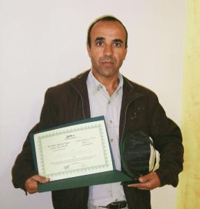 Abderrezak Djerrab Winner of the 2015 Algerian Paper of the Year Awards in Physical Sciences