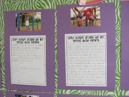 Creative Writing Bulletin Board