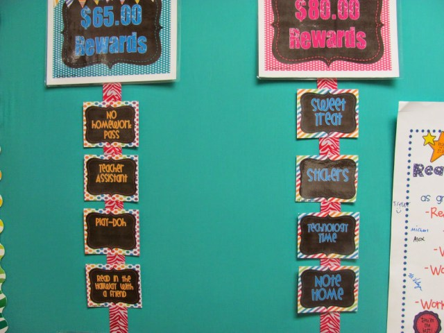 student behavior rewards
