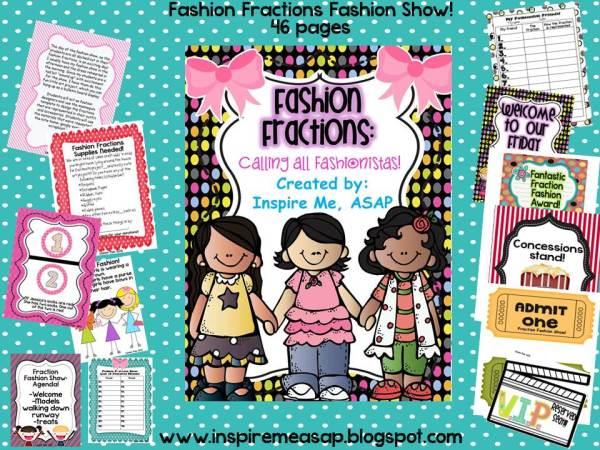 Fashion Fractions Fashion Show