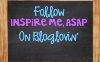 Follow my blog on Bloglovin!