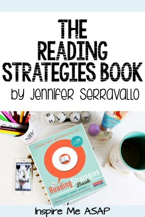 This blog post reviews The Reading Strategies Book by Jennifer Serravallo and gives tips to teach main idea for nonfiction texts.