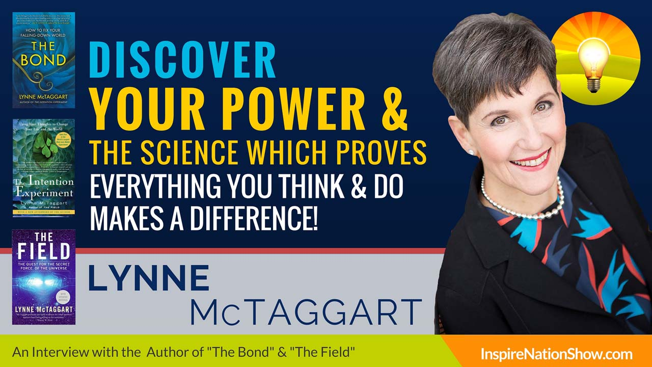 Listen to Michael Sandler's interview w/Lynne McTaggart at http://www.InspireNationShow.com