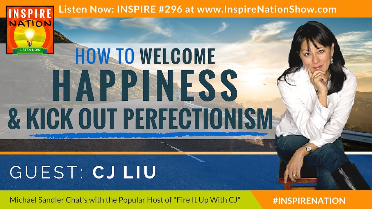Listen to Michael Sandler & CJ Liu discuss how to get over perfectionism!