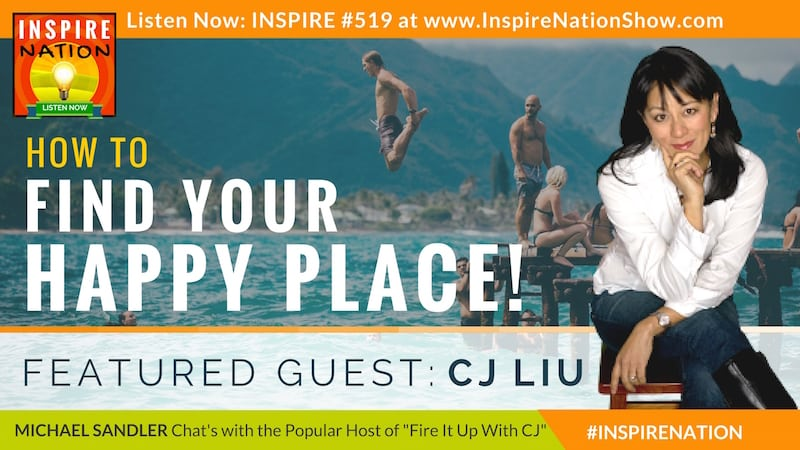 Michael Sandler and CJ Liu on finding your happy place!