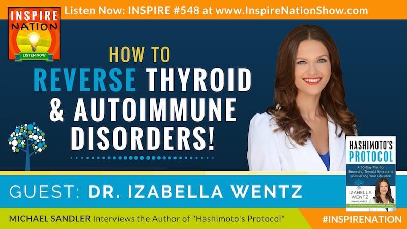 Michael Sandler interview Dr. Izabella Wentz on Hashimoto's Protocol and reversing thyroid symptoms and autoimmune diseases.