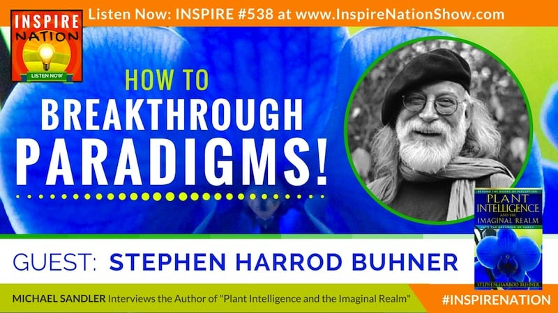 Listen to Michael Sandler's interview with Stephen Buhner on shifting your consciousness & breaking through your paradigms!