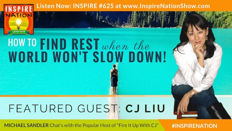 Michael Sandler & CJ Liu chat about finding a bit of respite when the world around you won't slow down.
