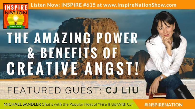 Michael Sandler & CJ Liu talk about the surprising benefis of creative angst!