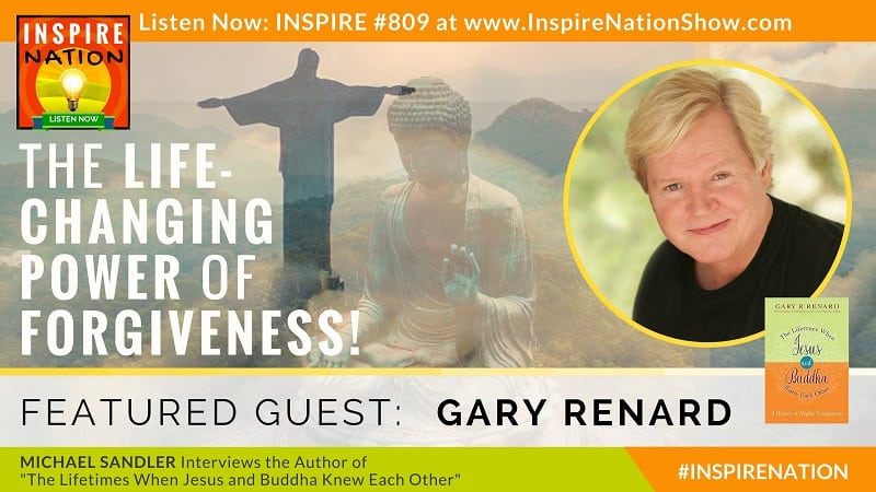 Michael Sandler interviews Gary Renard on The Lifetimes when Jesus and Buddha Knew Each Other!