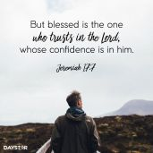 daystar poster confidence in God