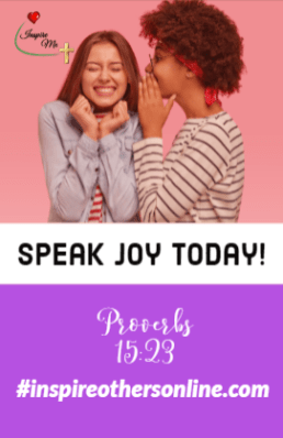 speak joy