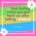 get back up after falling