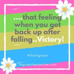 get back up after falling