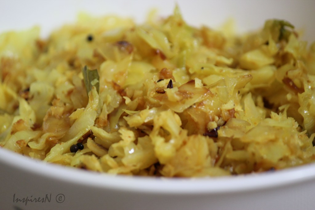 cabbage_thoran
