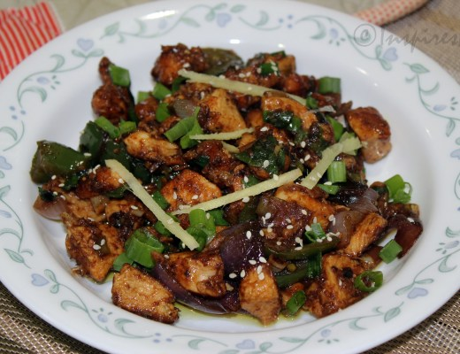 Indian Chili Chicken - A delicious Appetizer