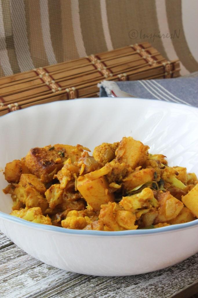 cauliflower and potato dish