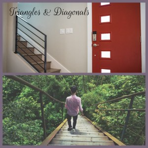 Triangles and Diagonals in composition