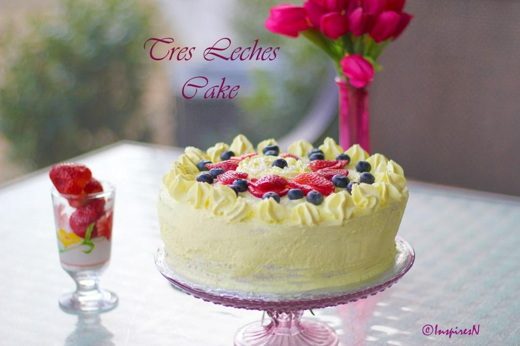 Tres Leches milk cake