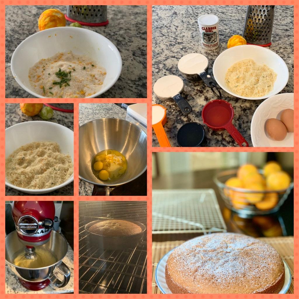 Citrus Olive Oil Cake Preparation Steps
