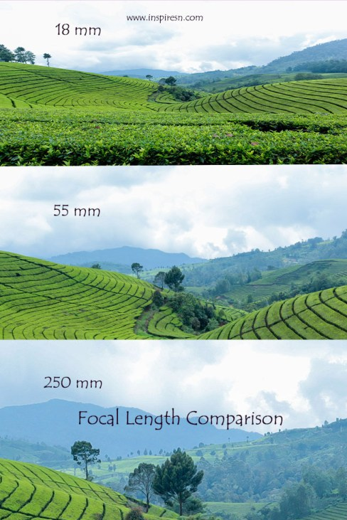 Focal length and images